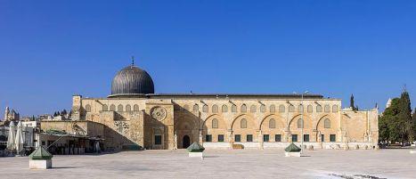 Al Aqsa Mosque, Temple Mount, Jerusalem (wikimedia org)
