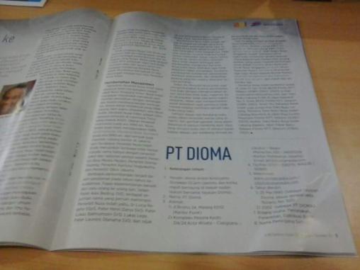 Dioma kependekan dari Dioses Malang, memang penerbitan buku rohani milik Keuskupan Malang