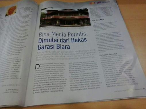 Penerbit Bina Media Perintis, Medan, merupakan yang termuda dalam SEKSAMA
