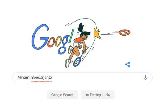 Google Doodle Minarni Soedaryanto