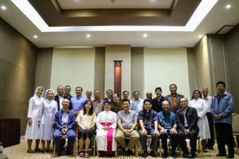 Rapat Kerja Tahunan untuk menyusul Program Kerja dan RAB Kantor KWI di Hotel Santika, TMII, Jakarta Timur