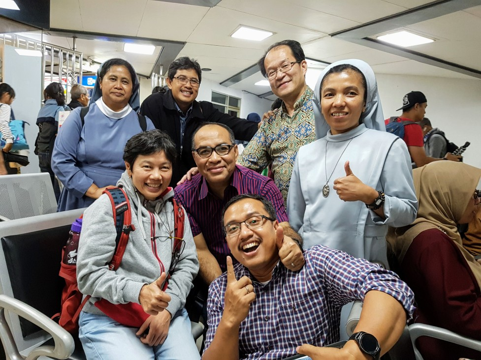 Stasiun Bandung - Persiapan Sidang Sinodal KWI 2018, 12 Oktober 2018
