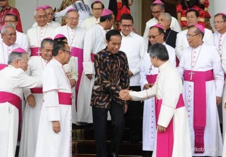 Para Uskup & Presiden Jokowi di Istana Bogor Nov 2018