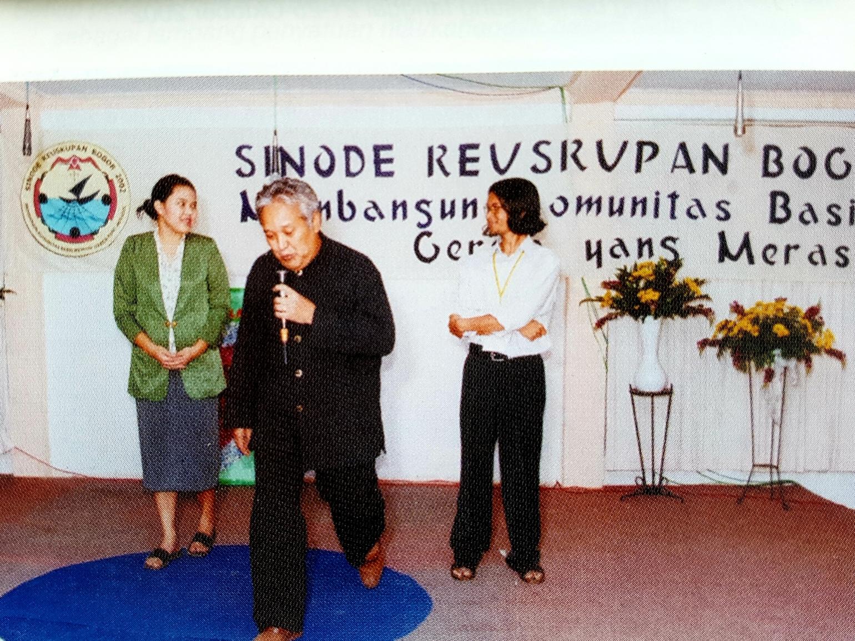 Adi Kurdi dalam Sinode Keuskupan Bogor 2002